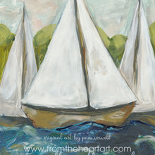 Coastal: Sailboats