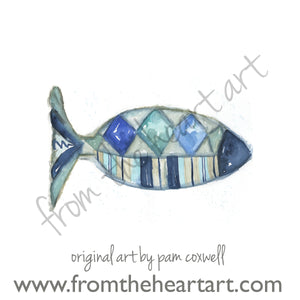 Blue Diamond Fish