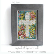 Blessings Floral Cross