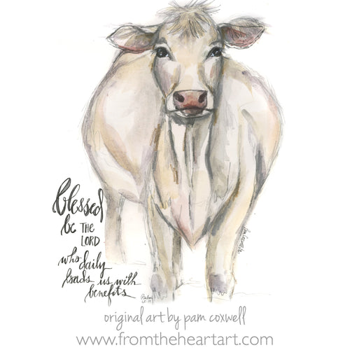 Cow White - Notecards