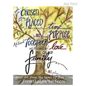 Family Tree Watercolor