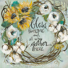 Wreath Bless this Home (Gather)