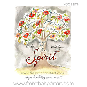 "Floral: Tree ""Fruit of the Spirit"" {Galatians 5:22} (Farewell)"