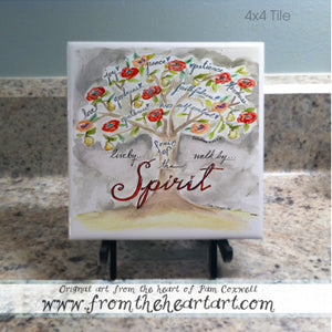 "Floral: Tree ""Fruit of the Spirit"" {Galatians 5:22}"