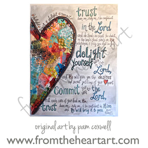 Trust & Delight Heart (Farewell)