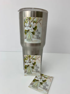 Magnolia and Bottle - Vinyl Stickers