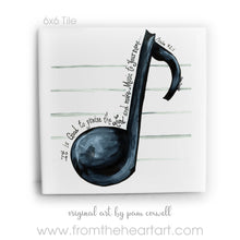 Music Note - Tiles and Note Cards