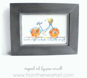 Citrus Bicycle
