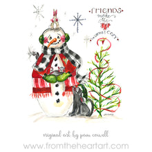 Snowman - Friends - Ornament