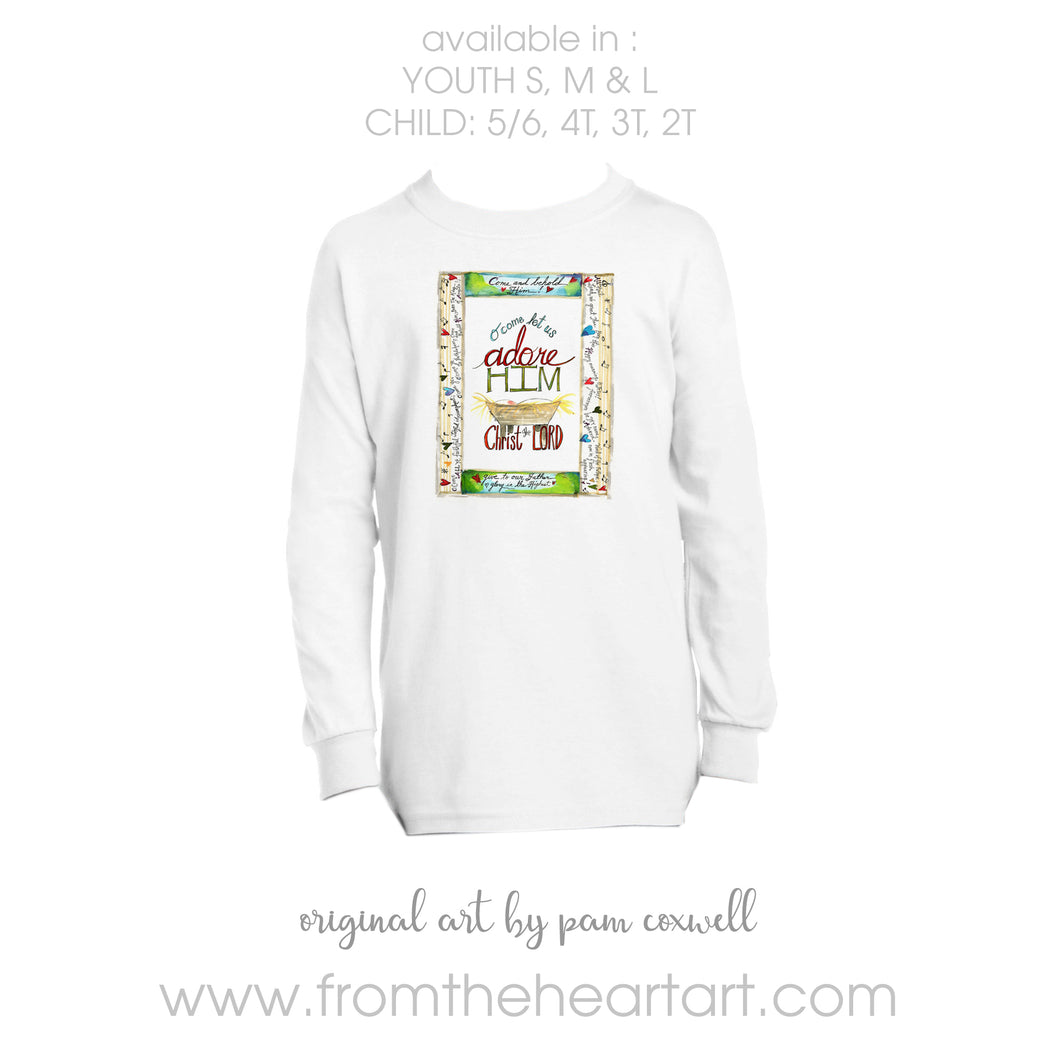 Adore Him Child/Youth T-shirt
