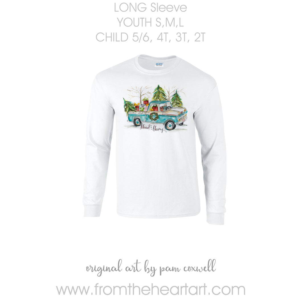 Christmas Truck Child/Youth T-shirt