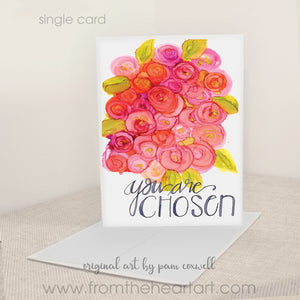 """You Are Chosen"" - Notecards"