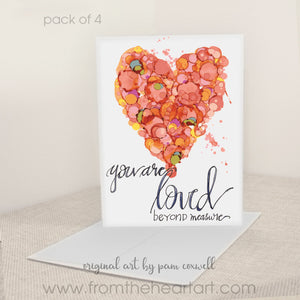 """You Are Loved"" - Notecards"