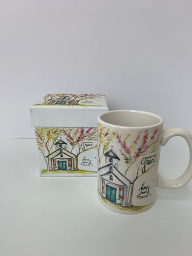 Amazing Grace Chapel - 13oz. Ceramic Gift Box Mug