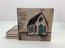 Fount Church - Ceramic Coasters - Set of 4