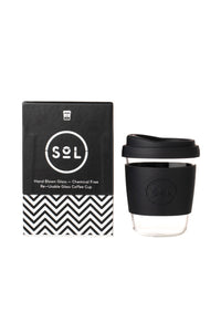 Sol Reusable Cup 12oz Basalt Black
