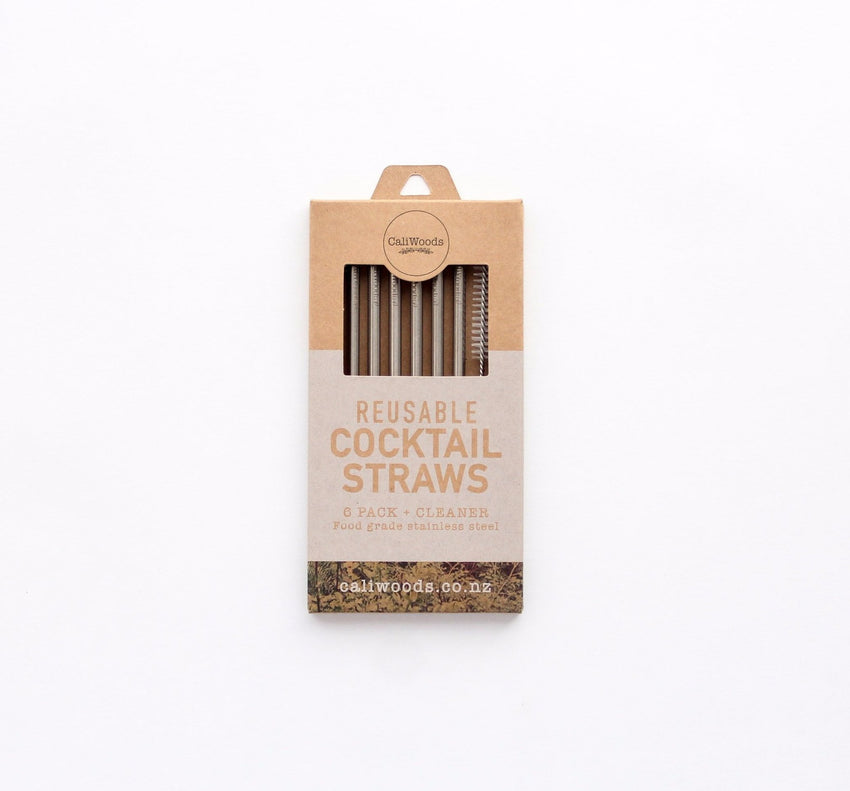Cocktail Straws - 6 pack