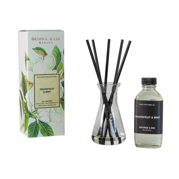 Reed Diffuser - Grapefruit & Mint