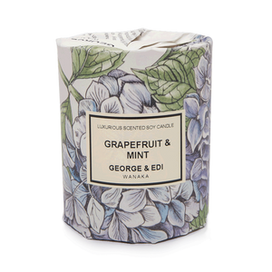 Medium Soy Candle - Grapefruit & Mint