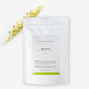 Detox Bath Salts 400g - Matcha