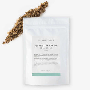 Body Scrub - Peppermint Coffee 200g