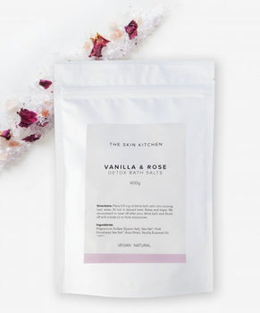 Detox Bath Salts 400g - Vanilla and Rose