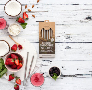 Smoothie Straws - 4 pack