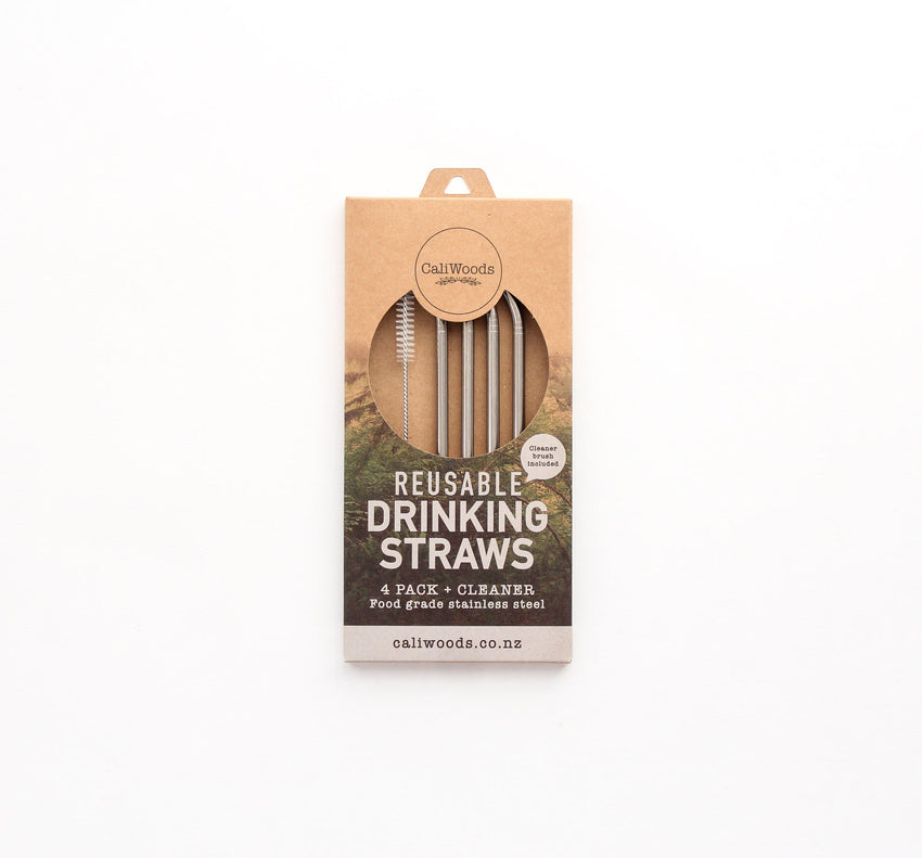 Drinking Straws - 4 pack