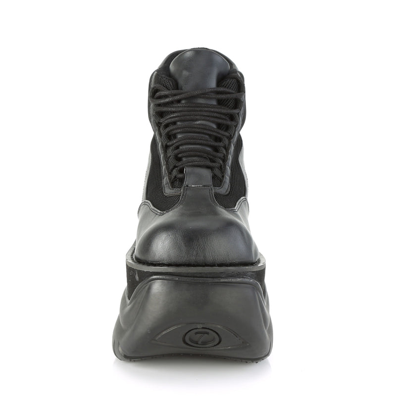 BOXER-01 Black Vegan Leather