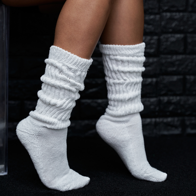 super plush slouch socks