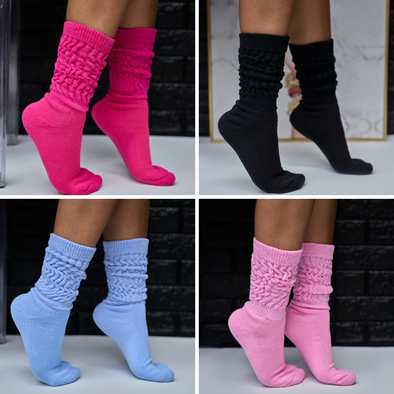 super plush slouch socks (more colors available)