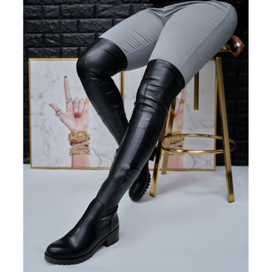 extreme stretch over the knee boot - euvera