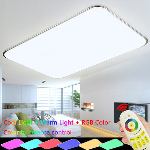 ModdSpace - Large Remote Control Ceiling Light 6 Changing Colors