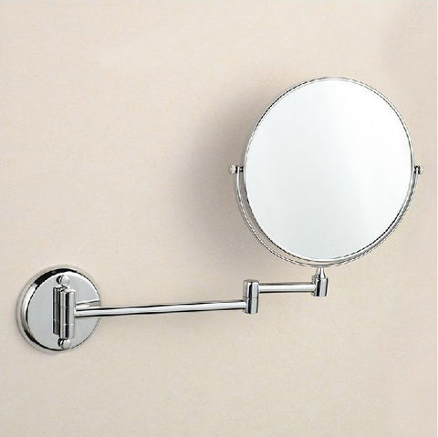 "ModdSpace - 8"" Dual Makeup Mirrors 1:1 And 3X-1X Magnification"