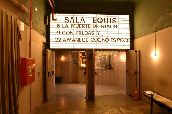 Totte | 映画館がバーに!『Sala Equis』