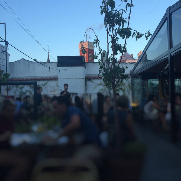 Totte | The Hat - Madrid's Rooftop Bar