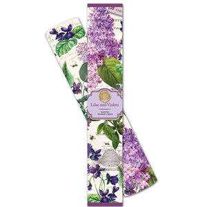 Michel Design Works Lilac and Violet scented Liners