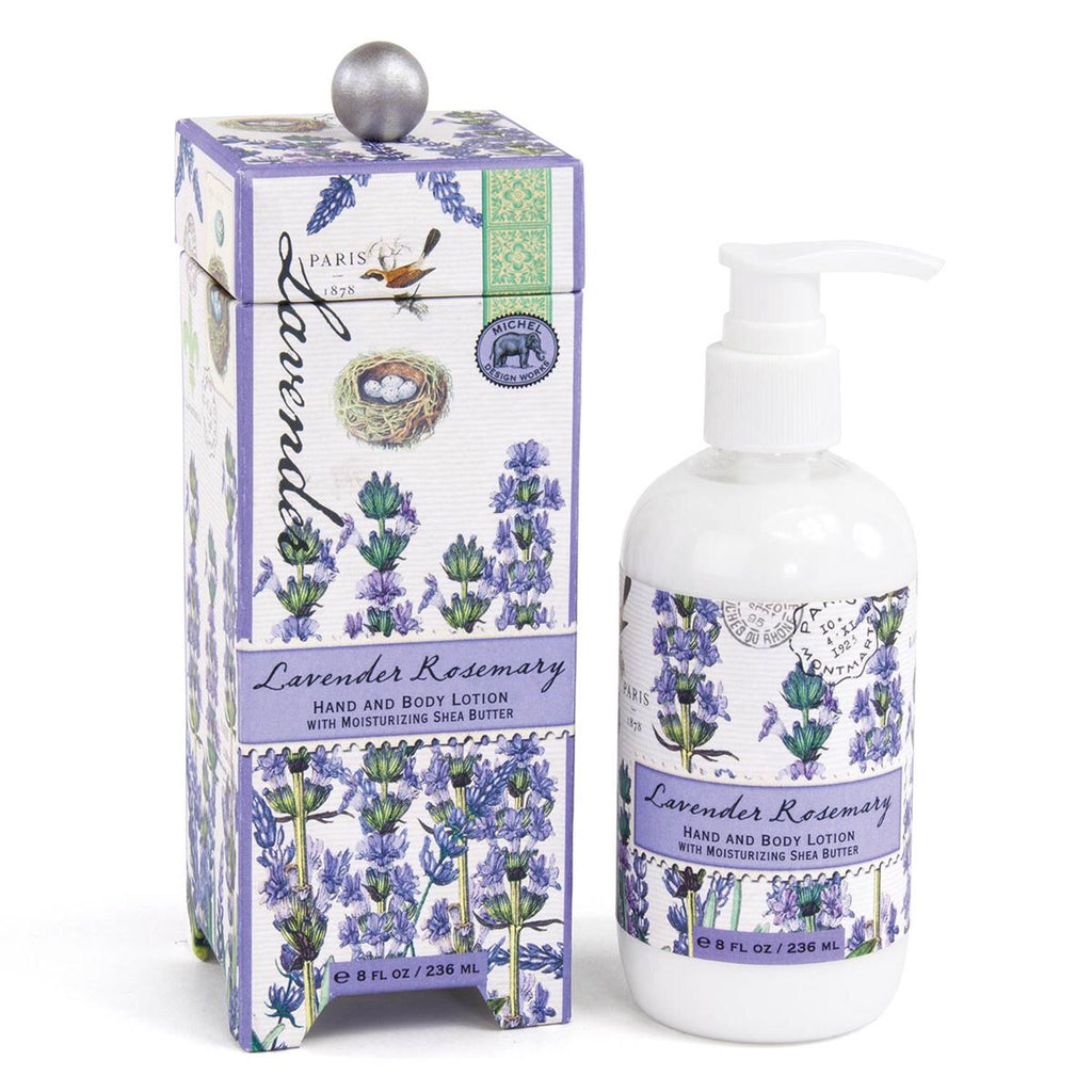 Michel Design Works Lavender rosemary hand and body lotion