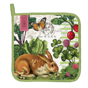 Michel Design Works  Easter Oven potholders