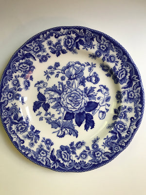 Spode Blue Room Collection- British Flowers-Rosa