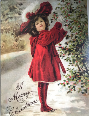 Pack of 10 Victorian Christmas Cards
