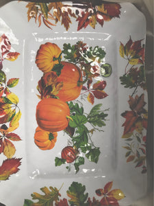 Michel Design Works Fall  Melamine tray