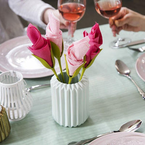 Rose Fold Napkin Holder