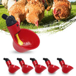 12PCS Automatic Poultry Water Drinking Cups