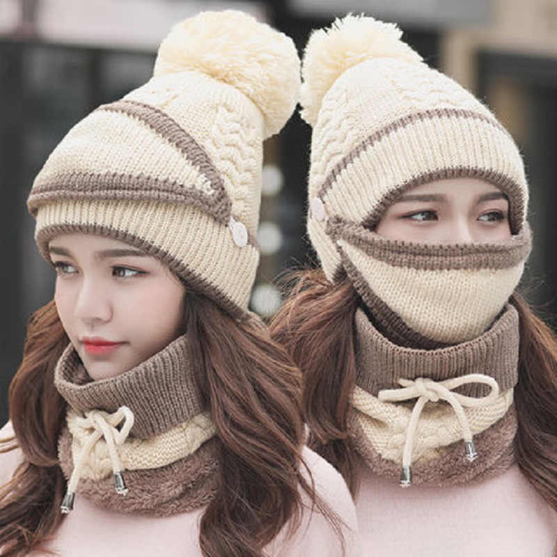 SN® New Winter Warm Scarf Set