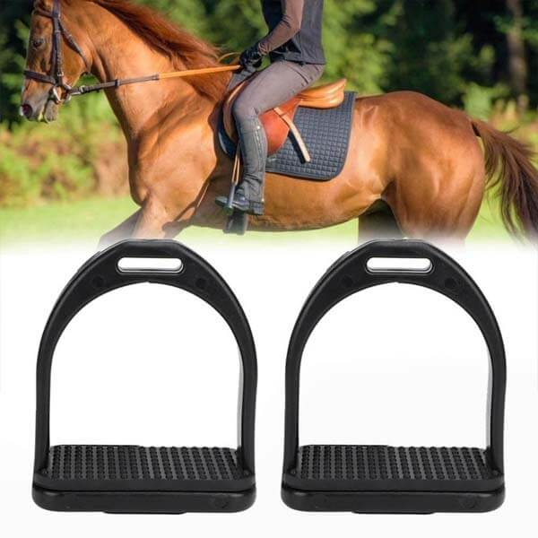 2PCS Anti Slip Durable Horse Riding Stirrups