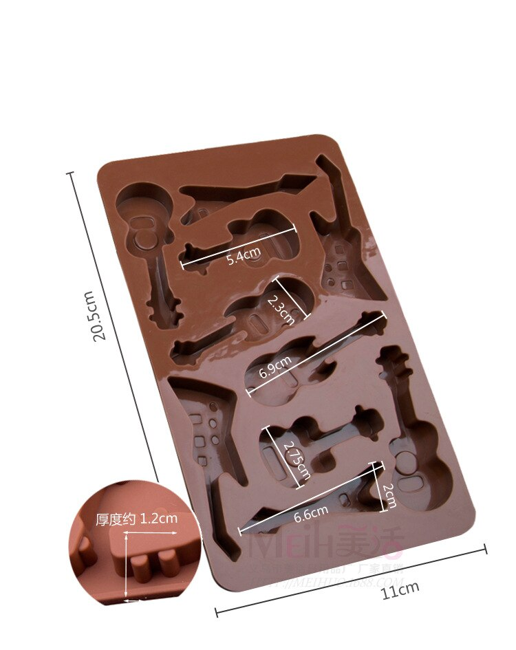 Chocolate Guitar Mold
