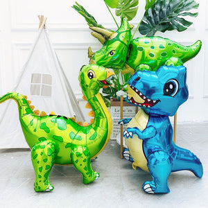 4D Movable Dinosaur Foil Balloon