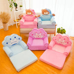 2-layer Cute Cartoon Shape Kids Sofa Chair (Filler not included)