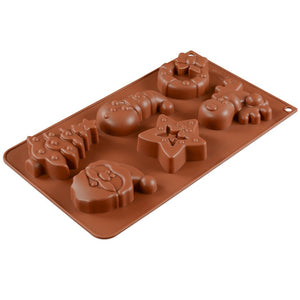 Chocolate Christmas Mold